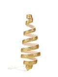 Christmas decoration spiral toy. Royalty Free Stock Images