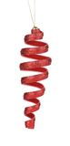 Christmas decoration spiral toy. Royalty Free Stock Photo