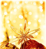 Christmas decoration star Royalty Free Stock Image