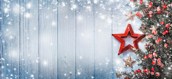 Christmas Decoration with Star Stock Images