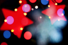 Christmas decoration stars Royalty Free Stock Images