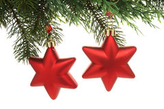Christmas Decoration  Stars Royalty Free Stock Image