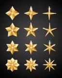 Christmas decoration 2019 Stars vector illustration