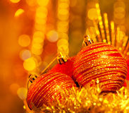 Christmas decoration still life Royalty Free Stock Photo