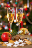 Christmas decoration, still life. Royalty Free Stock Images