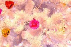 Christmas decoration on the street Stock Images