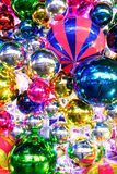 Christmas decoration on the street Royalty Free Stock Images