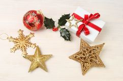 Christmas decoration theme royalty free stock image