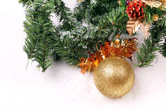 Christmas decoration tools Royalty Free Stock Images