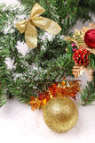 Christmas decoration tools Stock Images