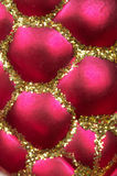 Christmas decoration toy background Royalty Free Stock Photo