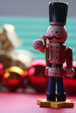 Christmas Decoration: Toy Soldier Royalty Free Stock Photo