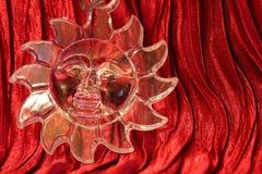 Christmas decoration - Trasparent sun Stock Photos