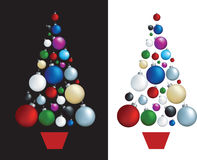 Christmas decoration tree Royalty Free Stock Photography