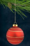 Christmas Decoration on a tree Stock Photos
