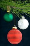 Christmas Decoration on a tree royalty free stock photo