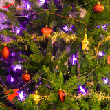 christmas decoration tree στοκ εικόνες