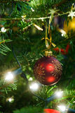 christmas decoration tree 免版税库存图片