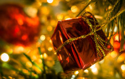 Christmas decoration - tree Royalty Free Stock Images