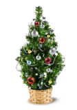 Christmas decoration tree Royalty Free Stock Photo