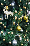 Christmas decoration on the tree Stock Photography