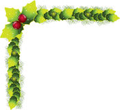 Christmas decoration vector Royalty Free Stock Image