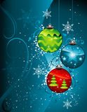 Christmas decoration vector Royalty Free Stock Photos