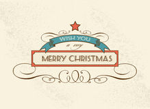 Christmas Decoration vector design element Royalty Free Stock Photos