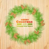 Christmas decoration. Vector illustration. This is file of EPS10 format Royalty Free Stock Image