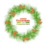 Christmas decoration. Vector illustration. This is file of EPS10 format Stock Photography