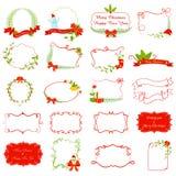 Christmas Decoration. Vector illustration ofvintage style Christmas Decoration Royalty Free Stock Photos