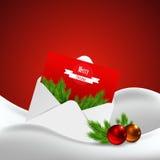 Christmas decoration vector illustration. Still Life. Trendy Design VEctor illustration Eps 10 Royalty Free Stock Photos
