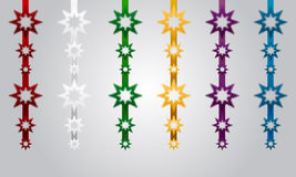 Christmas Decoration Vector Set Stock Image