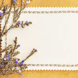 Christmas decoration. vintage background. Royalty Free Stock Photos