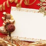 Christmas decoration. vintage background. Stock Image