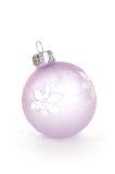 christmas decoration violet Στοκ εικόνες με δικαίωμα ελεύθερης χρήσης