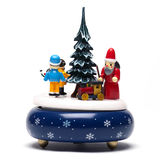 Christmas decoration on white Royalty Free Stock Photo