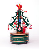 Christmas decoration on white Stock Image