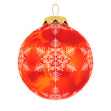 Christmas decoration on white background Royalty Free Stock Photos