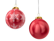 Christmas decoration on white background Stock Image