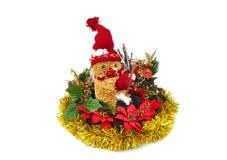 Christmas decoration on white background. Stock Images