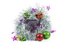 Christmas decoration on a white background Stock Photos