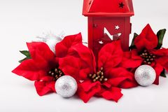 Christmas decoration on a white background Stock Photography