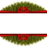 Christmas decoration on white background Royalty Free Stock Photography
