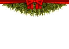 Christmas decoration on white background. Stock Image