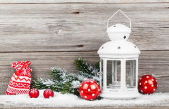 Christmas decoration with xmas canes Royalty Free Stock Photos