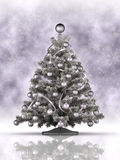 Christmas decoration - xmas tree Royalty Free Stock Image