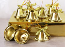 Christmas Decorations. Close up shot of some colorful christmas decorations Royalty Free Stock Photos