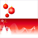 Christmas Decorations. Vector / Included Eps8 Royalty Free Stock Photography