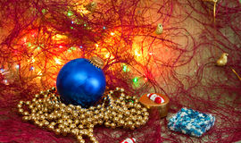 Christmas decorations. Royalty Free Stock Photo